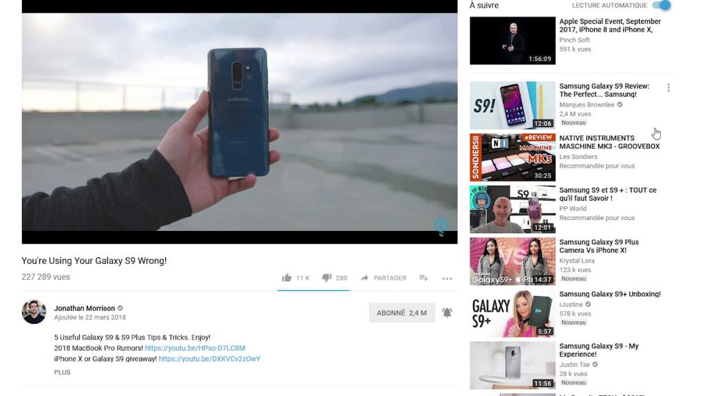 L'algorithme de YouTube ne nous incite pas vraiment à explorer de nouveaux contenus